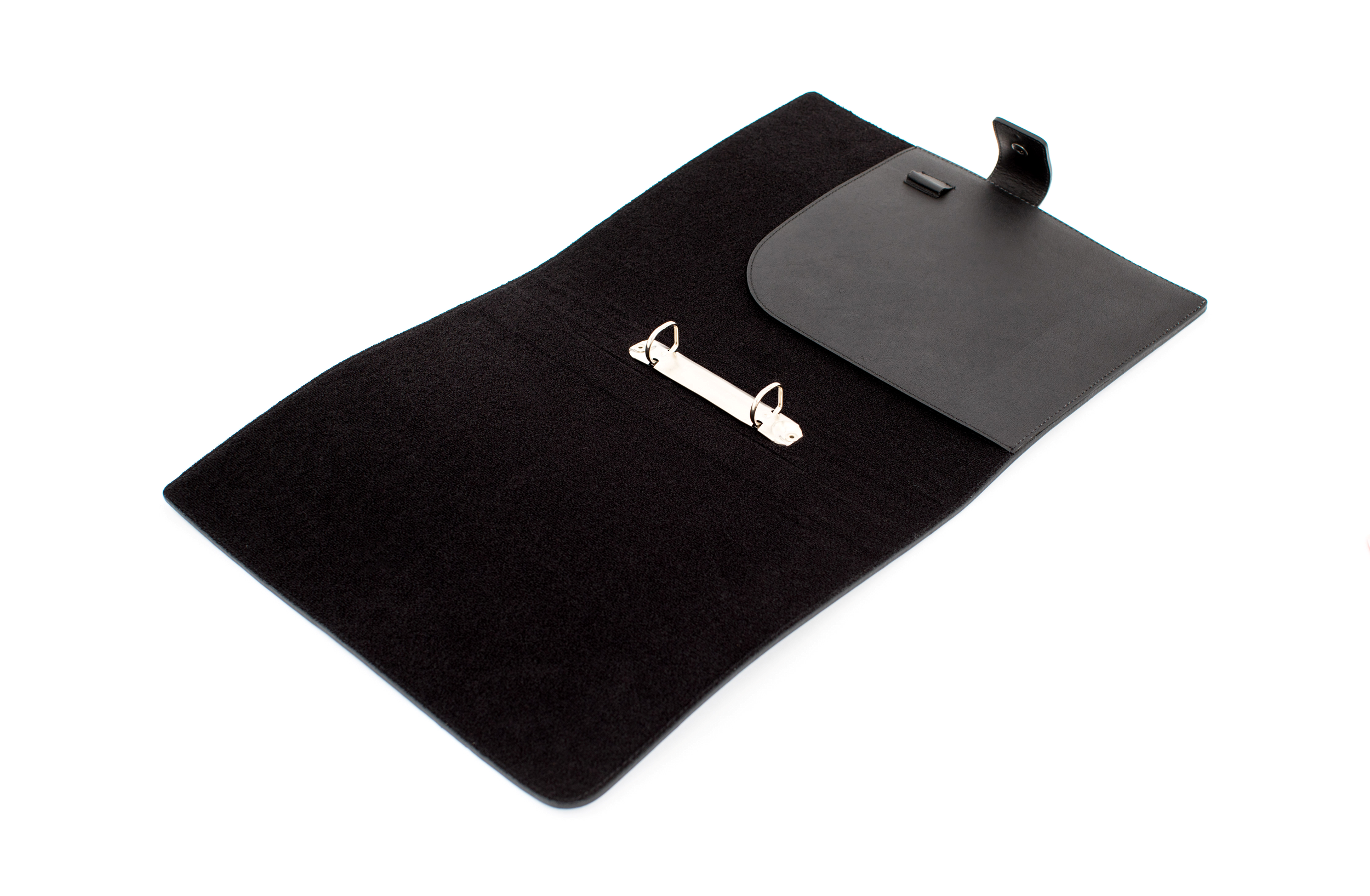 HANDSTATT Leather case 'business' for iPads/Tablets black